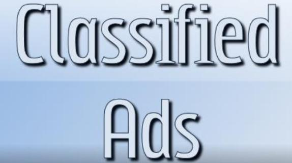 Classified-Ads for you