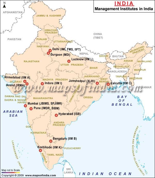 india-map-management-institutes