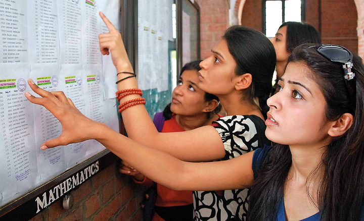 DU Admissions Cut Off List 2016