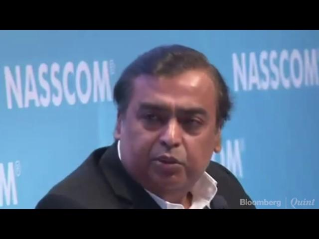 """Make India The Biggest Software Market In The World,"" Urges Mukesh Ambani At NASSCOM"