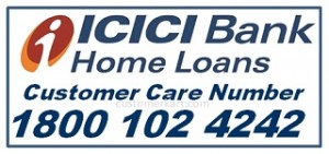 ICICI home loan customer care number 24X7 Toll Free Enquiry No