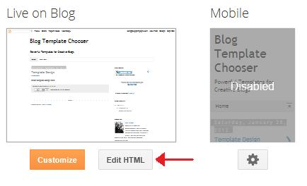 How to Customize the Blogger Page Title