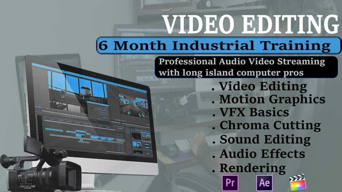 Video Editing Course in New Delhi