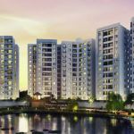 A newly launched Godrej South Estate residential area in New Delhi