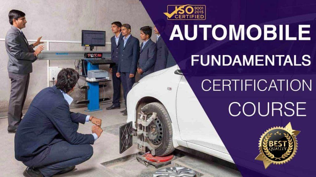 Automobile Help Efficiency Education course