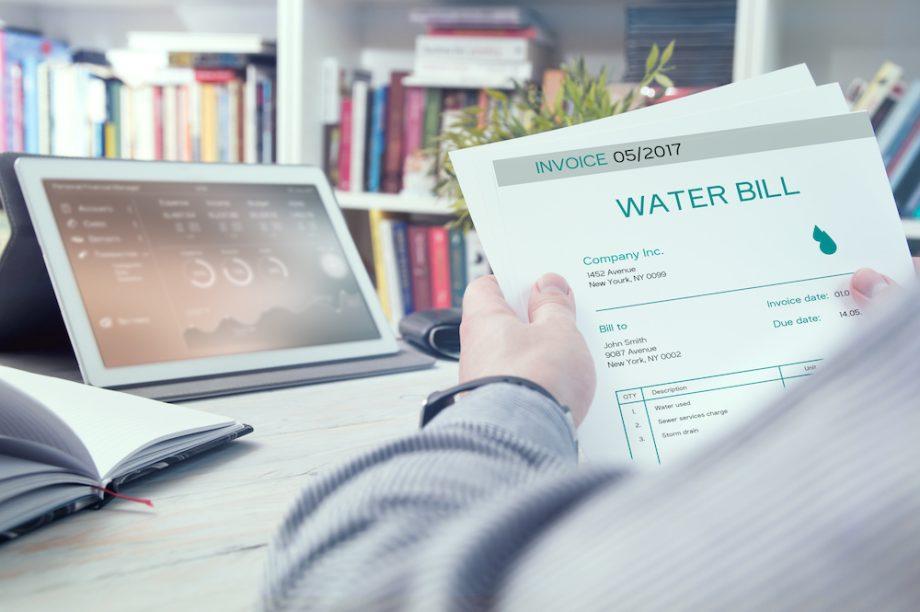 increase in water bills
